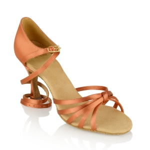 825-X Drizzle Xtra Dark Tan Satin